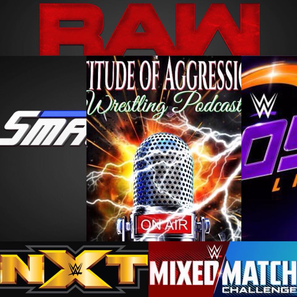 Raw, Smackdown Live, Mixed Match Challenge, 205 Live & NXT